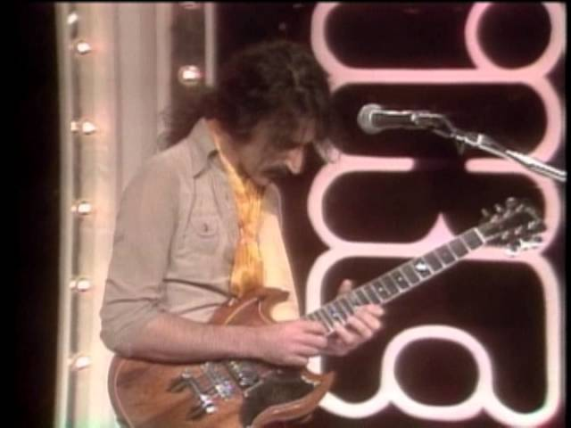 Frank Zappa appearing on the Mike Douglas Show