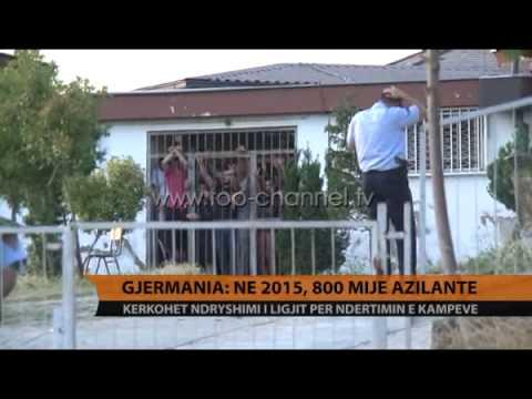 Gjermania: Në 2015-n, 800 mijë azilantë - Top Channel Albania - News - Lajme