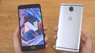 Official OnePlus 3 (3T) Android 7.0 Nougat!