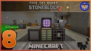 StoneBlock 2 Modpack Ep 8 - ME Computer Storage System - Modded Minecraft
