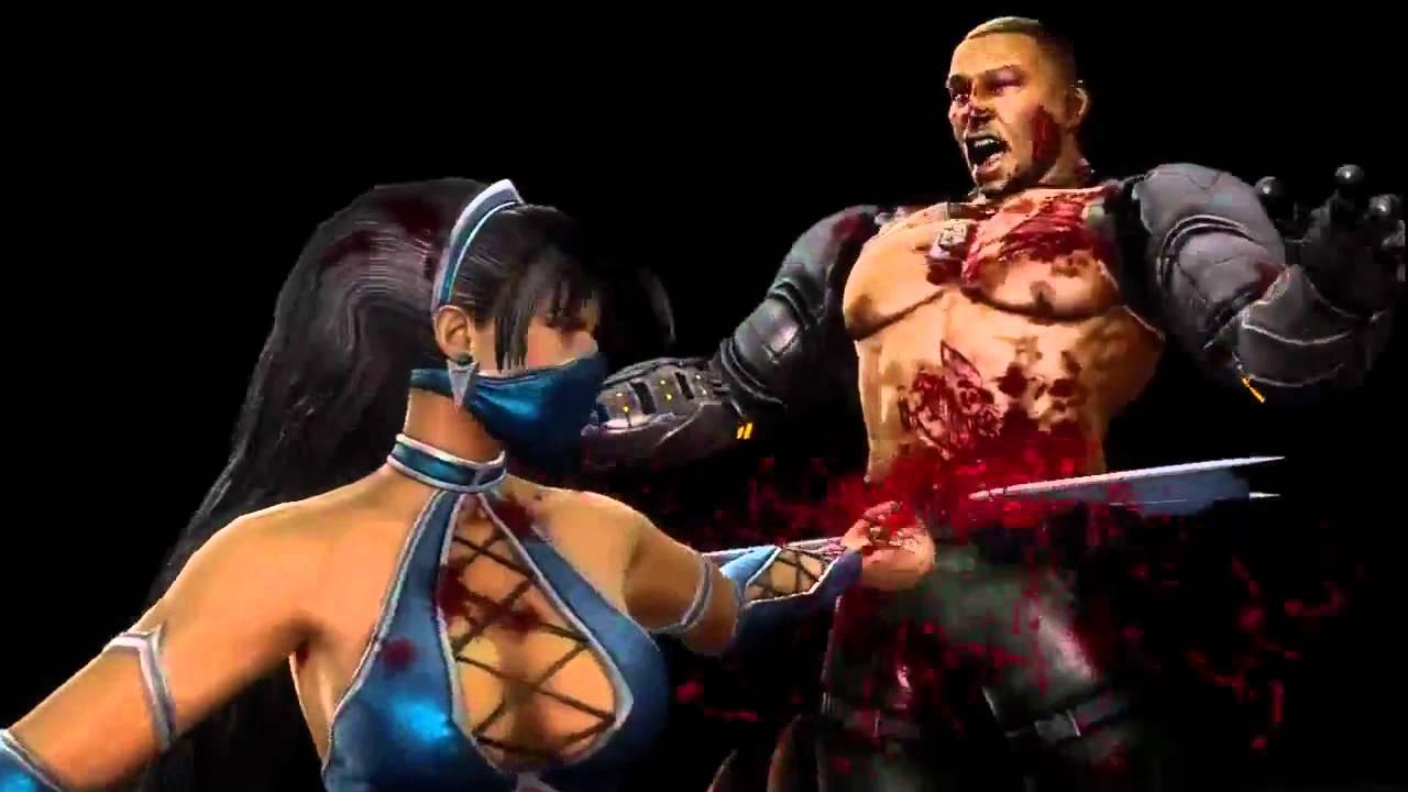 Mortal Kombat 9 Fatalities On Kitana