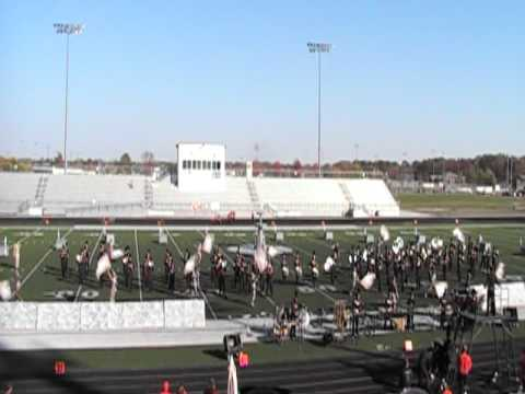 Lafayette Jefferson Marching Band at Homestead Invitational 10-9-10