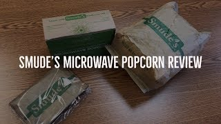 Smude's Sunflower Oil Microwave Popcorn Review