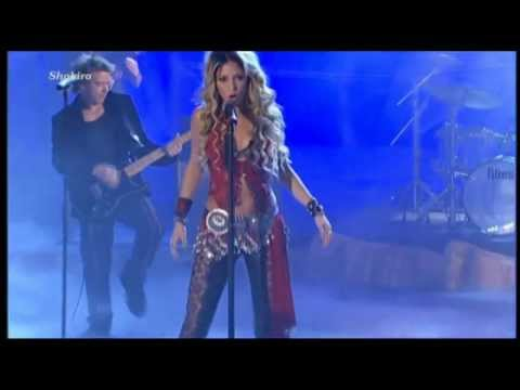 Shakira - Whenever Wherever Wetten Dass... (HD 1080p)