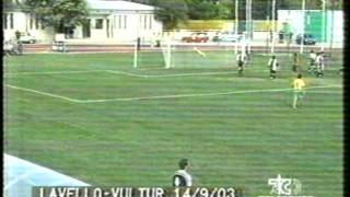 Documenti: Calcio Lucano: Lavello - Vultur (2003)