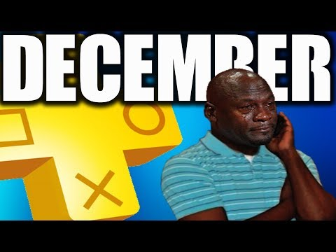 PS4 PS PLUS DECEMBER 2017 NOT GOOD NO MORE PS3 GAMES ON PS PLUS Monthly?