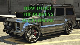 HOW TO GET THE DUBSTA 2 IN GTA ONLINE - spawn the chrome/gold dubsta 2 gta online