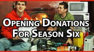 Microwave Show: Opening Your Donations!