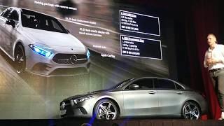 2019 Mercedes-Benz A-Class Sedan Launch Presentation in Malaysia feat. The A200 Progressive Line