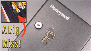[1011] Something's Missing (Other Than Security) - Honeywell Key Lock Box