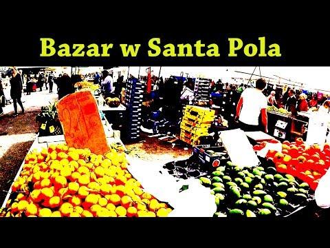 Jak Wygląda Kitesurfing??? & Kupuję Owoce Na Bazarze W Santa Pola