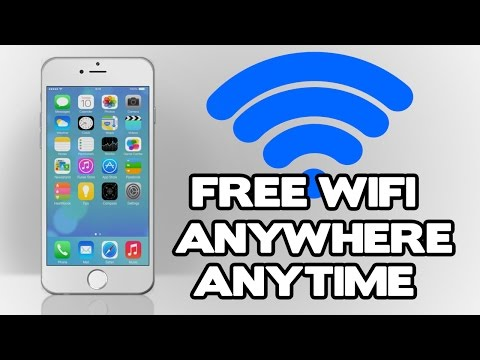 How to get FREE WIFI access anywhere in the world!