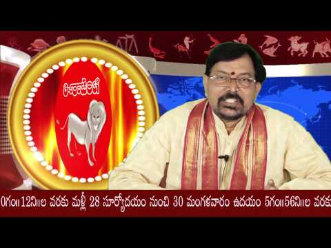 Simha Rasi (leo) 2014 - Sree Jaya - December Predictions Part 2 video