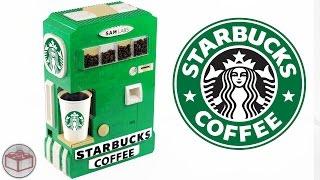 LEGO Starbucks Hot Coffee Maker Machine
