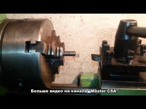 как вычислить высоту резца для токарного станка/how to calculate the height of the cutter for lathe