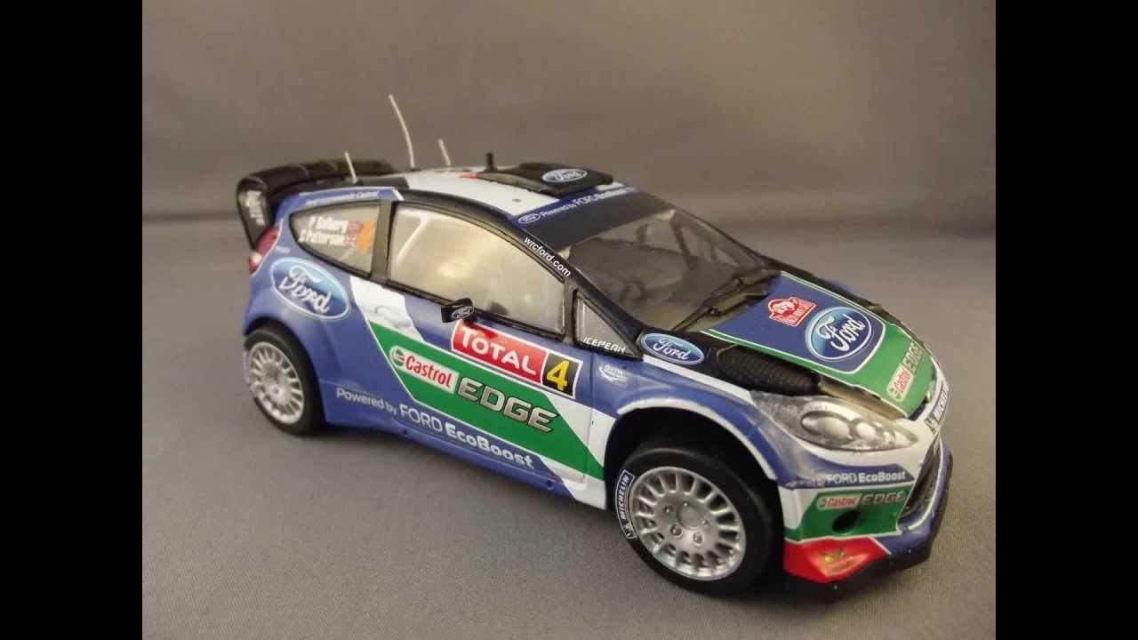 Airfix 1 32 ford fiesta rs wrc step by step photo build guide youtube
