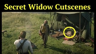 All Hidden Widow Cutscenes in Red Dead Redemption 2 (RDR2): John and Arthur Meet Charlotte Balfour