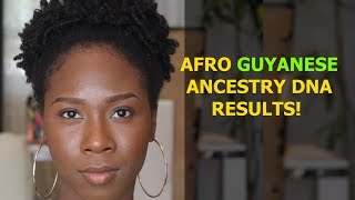 Where Do Afro Guyanese Originate From? - My Ancestry DNA Results!