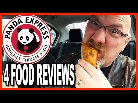 Panda Express ★ Sesame Chicken, Seafood Delight, Eggroll and Cookie Review