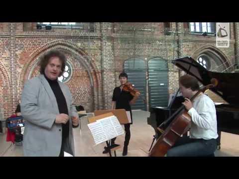 Mira Wang und Jan Vogler mit Stefan Malzew