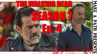 THE WALKING DEAD Season 7 Episode 4 REVIEW [SPOILERS] Service Ep 704