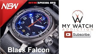 MTM Special Ops Black Falcon Unboxing: Tactical Watch Review