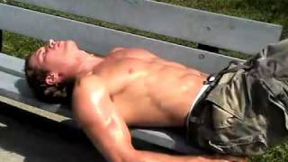 james sexy sixpack male model