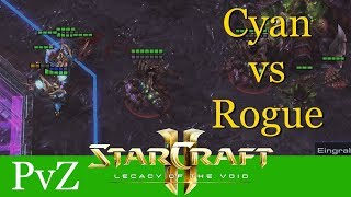 Cyan vs Rogue (PvZ) - Hangzhou SC Carnival - Starcraft 2: LotV Profi Replays [Deutsch | German]