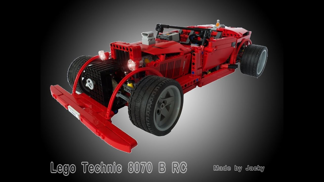 lego technic 8070 b hot rod pf motorize rc like 42022. Black Bedroom Furniture Sets. Home Design Ideas