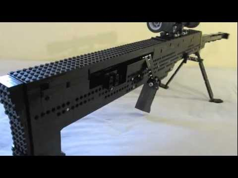 Lego Barrett M99 (working)
