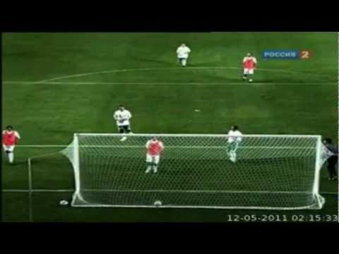 FIGO And Zamorano Goal World Team Vs КАВКАЗ MAY 11 2011