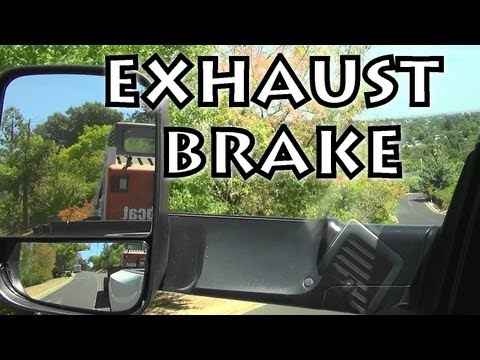 Loud Cummins Exhaust Brake Down Hill With Trailer - 6.7L 6 Speed Manual Ram 3500