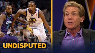 Skip Bayless believes Kevin Durant proved he is better than LeBron James  | UNDISPUTED