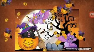 Trò chơi ghép tranh - ghep hinh lễ hội halloween