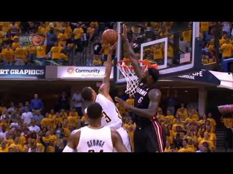 LeBron James Top 10 Plays | 2013 NBA Playoffs