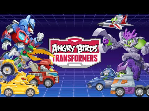 Angry Birds Transformers - iOS / Android - HD Gameplay Livestream 2