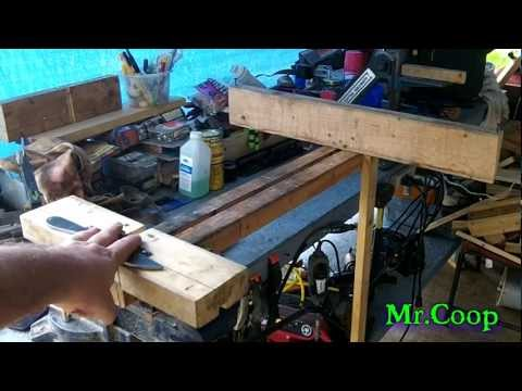 Update Knife Making Edge Grinding Jig