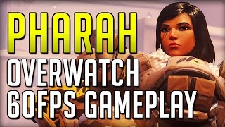Death From Above With Pharah - Overwatch 60FPS Ultra Settings Gameplay