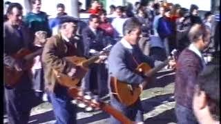 CUADRILLA  DE ÁNIMAS DE  SAN CLEMENTE ( HUÉSCAR) AÑO 19871. FANDANGO Y CRUCES