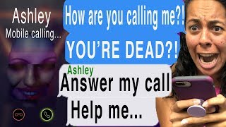 Talking To My Dead Best Friend At 3 AM!!! *SHE CALLED ME!* (Let Me In | Cliffhanger | Texting Story)