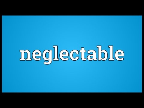 Header of neglectable