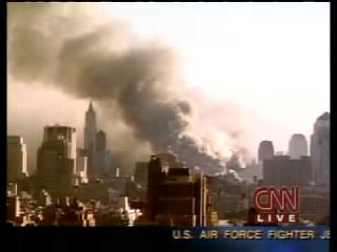 9/11 Tom Clancy Coverage of the WTC 7 Collapse CNN 5 35 PM 9 11 2001