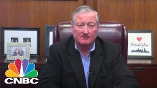Mayor Jim Kenney Tells Amazon HQ2 It's Philly's Time To Shine | CNBC