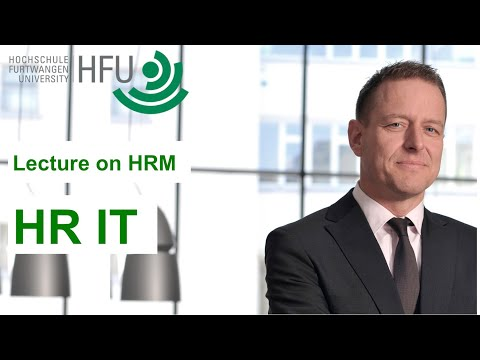 Human Resource Management Lecture Part 13 - HR IT