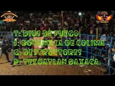 botanilla de colima vs dios de fuego de los destructores ( en tezoatlan oaxaca) 2014