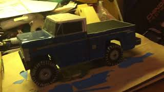 1974 Ford F-250 4x4 wooden model
