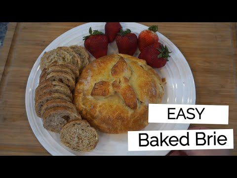 Make-It-Your-Own Baked Brie with Pillsbury Crescent Rolls
