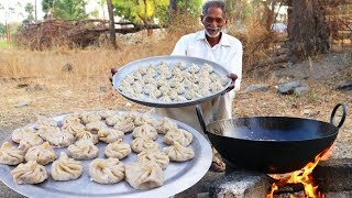 Veg Momos recipe | Steamed Vegetable Momos | Vegetable Dim Sum By Our Grandpa