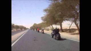 Kuwait Riders At US Army Camp Arifjan