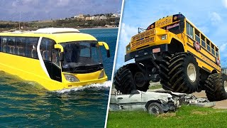 THIS IS THE MOST AMAZING BUS CONVERSION YOU'VE EVER SEEN!